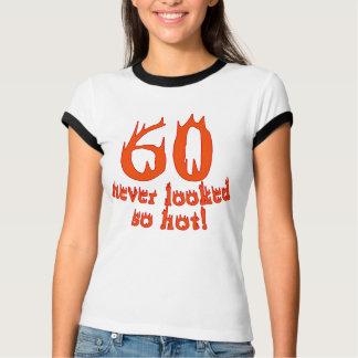 ¡60 nunca parecido tan caliente! camisas