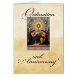60.o Ángeles del aniversario de la ordenación en e Felicitaciones