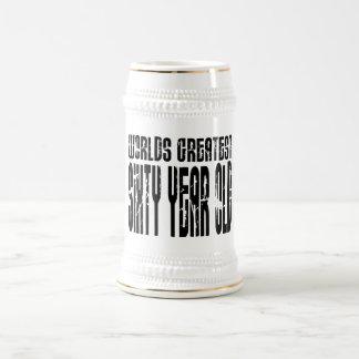60 o Años más grandes del mundo del cumpleaños 60 Taza De Café