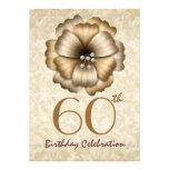 60.o Arco de la flor del oro de la invitación de l