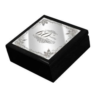 60.o Caja de regalo del aniversario de boda