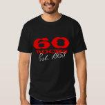 60.o Camiseta el | del cumpleaños 60 rocas Est. Playera