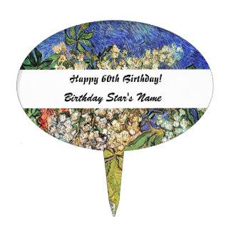 60.o cumpleaños de los adultos decoración para tarta