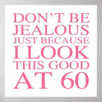 60.o cumpleaños descarado para las mujeres póster
