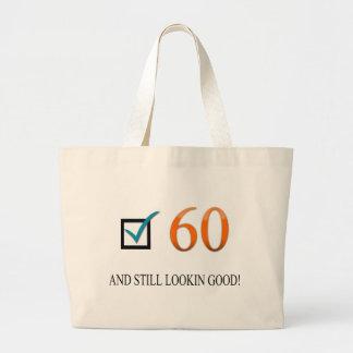 60.o cumpleaños feliz bolsa