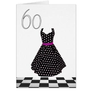 60 o cumpleaños feliz tarjetas