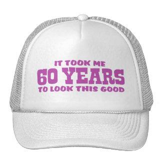 60.o Cumpleaños Gorro