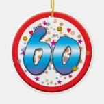 60.o Cumpleaños Ornamentos De Reyes Magos