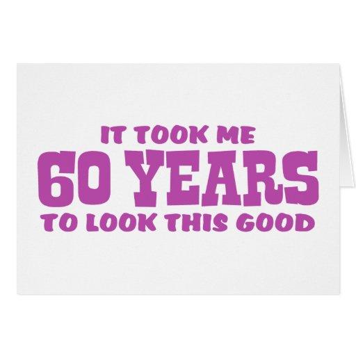 60.o Cumpleaños Tarjetas