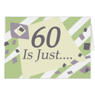 60 o Cumpleaños Tarjeton