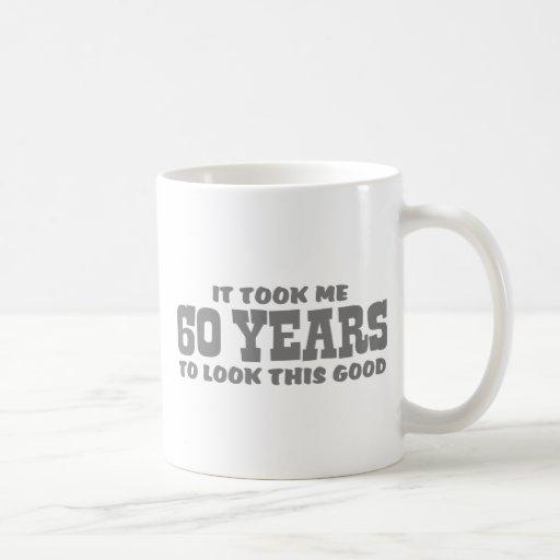 60.o Cumpleaños Tazas