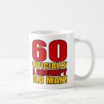 60.o humor gruñón del cumpleaños taza de café