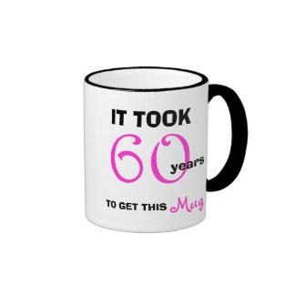 60 o Ideas del regalo de cumpleaños para su taza -