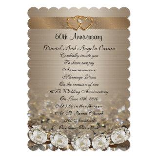 60.o Invitación de la fiesta de aniversario