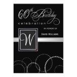 60.o Invitaciones de la fiesta de cumpleaños - con Comunicados Personales