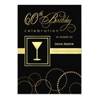 """60.o Invitaciones de la fiesta de cumpleaños - con Invitación 5"""" X 7"""""""