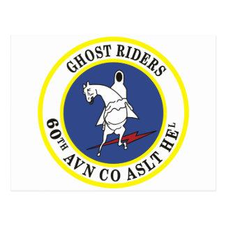 60.o Jinetes del fantasma de AHC Tarjetas Postales