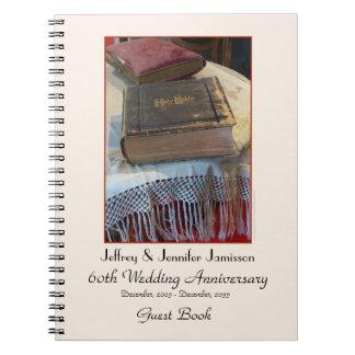 60.o Libro de visitas de la fiesta de aniversario, Spiral Notebooks