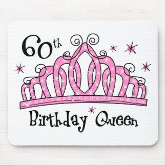 60.o LT de la reina del cumpleaños de la tiara Alfombrilla De Ratón