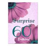60.o Margaritas del rosa del cumpleaños de la Anuncios