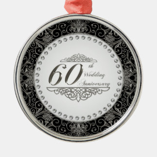 60.o Ornamento del aniversario de boda Ornamentos De Reyes Magos