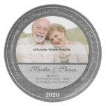 60.o Placa de la foto del aniversario de boda de d Platos De Comidas