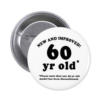 60.o Regalos de la mordaza del cumpleaños Pins