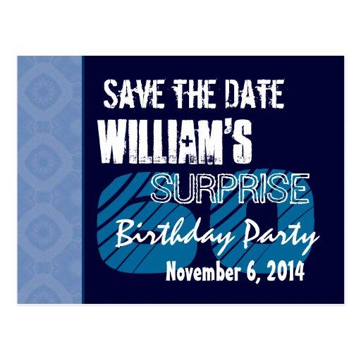 60.o Reserva del cumpleaños de la sorpresa el Postales