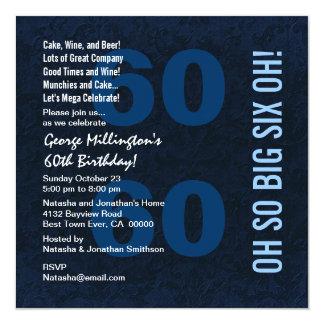 60.o Rojo blanco azul SEIS OH A01 del cumpleaños Comunicados