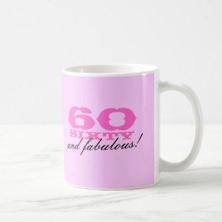60.o ¡Taza del cumpleaños para las mujeres el | 60
