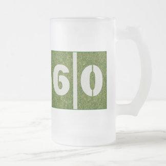 60.o Taza del vidrio del fútbol de la yarda del