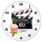 60.o Tema de la película del cumpleaños Reloj De Pared