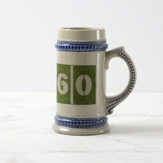60.o Vidrio Stein de Fooball de la yarda del Jarra De Cerveza