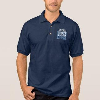 60.o Vintage 1953 del regalo de cumpleaños el Camiseta Polo