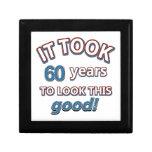 60.os diseños del cumpleaños del año cajas de joyas