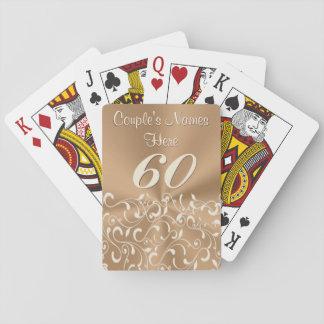 60.os presentes o favores personalizados del barajas de cartas