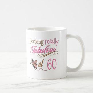 60 os regalos de cumpleaños de la diversión tazas de café