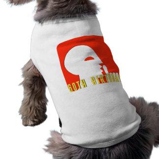 60.os regalos de cumpleaños del secreto playera sin mangas para perro