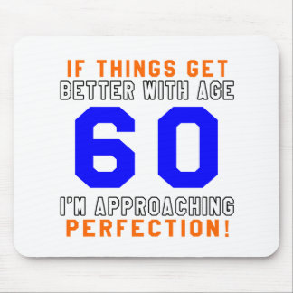 60 Perfection Birthday Designs Mousepad