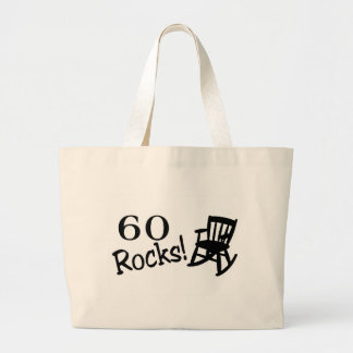 60 Rocks (Rocker) Large Tote Bag
