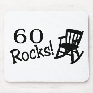 60 Rocks (Rocker) Mouse Pad