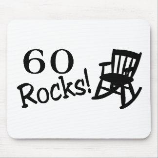 60 Rocks (Rocker) Mouse Pad