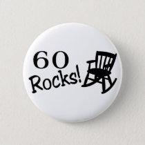 60 Rocks (Rocker) Pinback Button