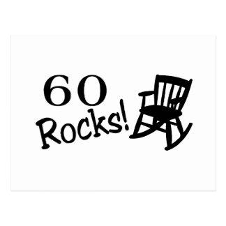 60 Rocks (Rocker) Postcard