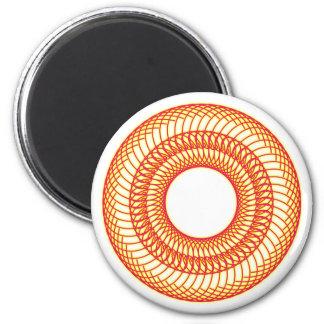 60 rosette magnet
