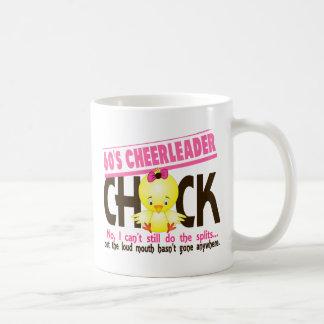 60's Cheerleader Chick Classic White Coffee Mug