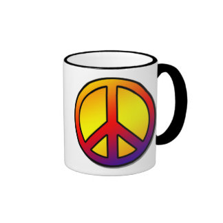 60 s Clean Peace Sign 1 Mugs