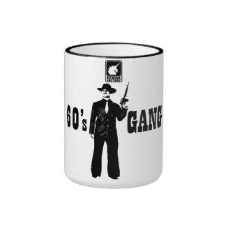 60 ' s-GANG (black) Ringer Mug