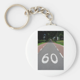 60 sixty key chain