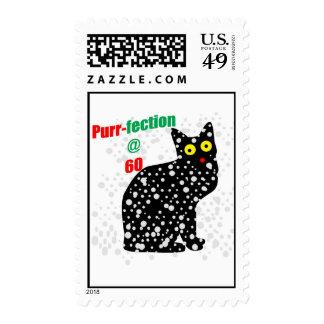 60 Snow Cat Purr-fection Postage